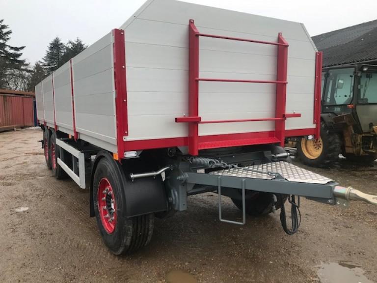Fastladshænger store hjul 385/22,5