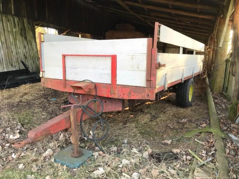 Landbrugs tipvogn