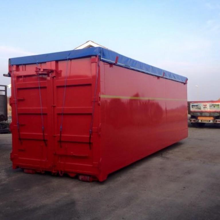Rød volume container
