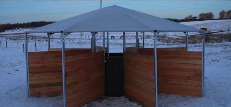 Pavilloner til heste