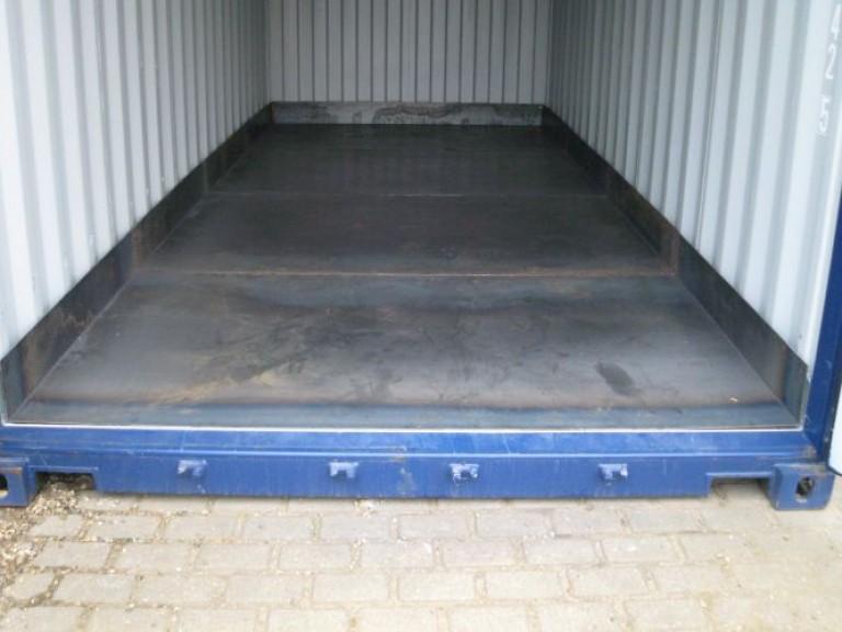 Container indlæg for kemi
