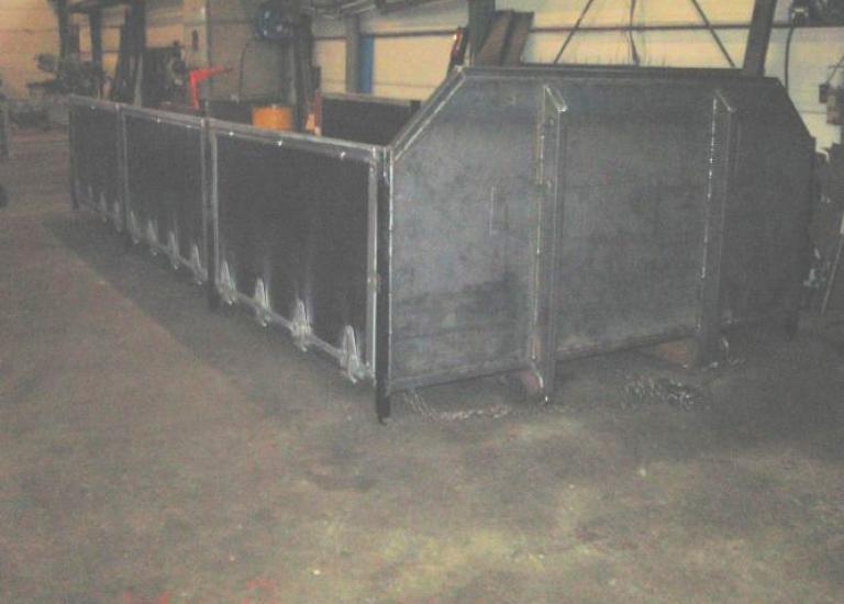 Containerlad sætterkasse